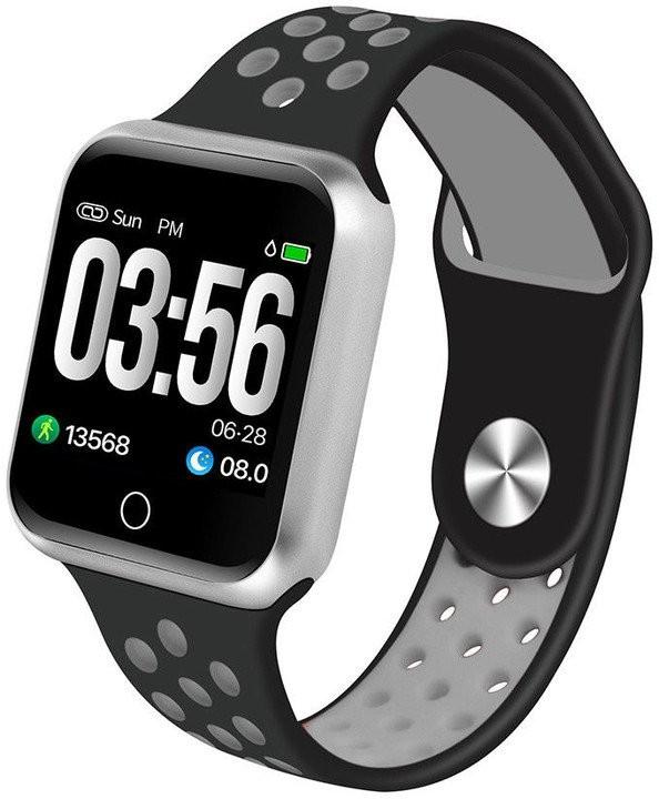 Chytré hodinky Chytré hodinky Immax SW10, čierna/strieborná