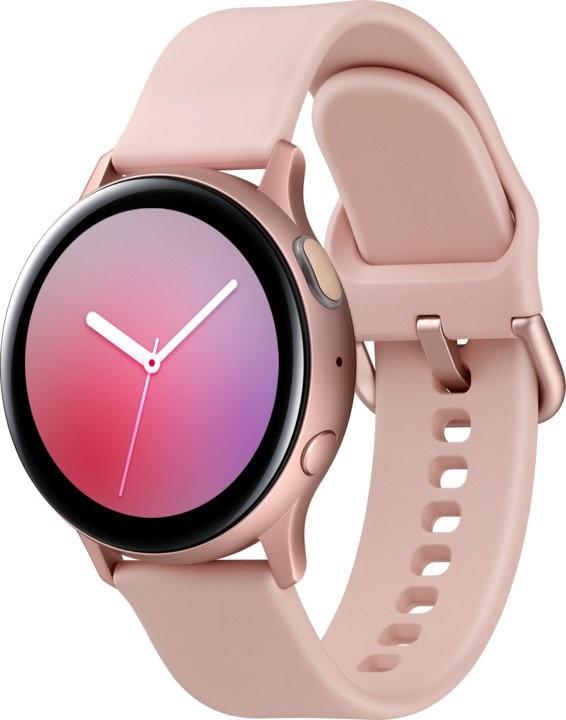 Chytré hodinky Chytré hodinky Samsung Galaxy Watch Active 2, 40mm, zlatá