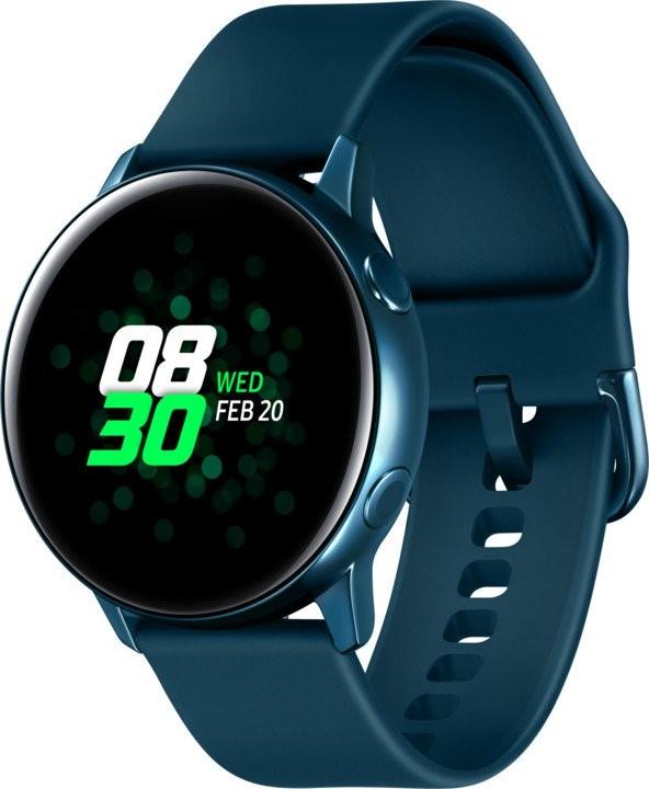 Chytré hodinky Chytré hodinky Samsung Galaxy Watch Active R500, modrá/zelená