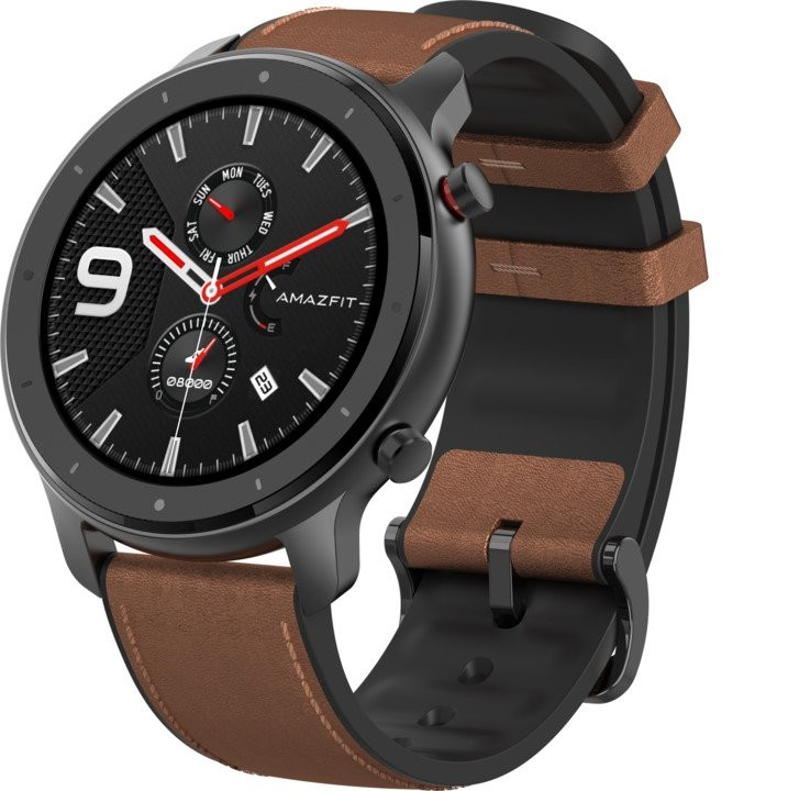 Chytré hodinky Chytré hodinky Xiaomi Amazfit GTR 47mm, čierna