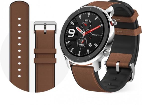 Chytré hodinky Chytré hodinky Xiaomi Amazfit GTR 47mm, strieborná