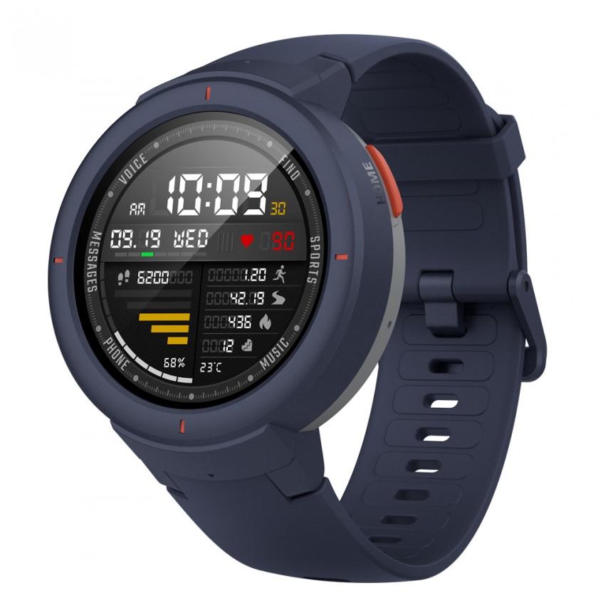 Chytré hodinky Chytré hodinky Xiaomi Amazfit VERGE, modrá