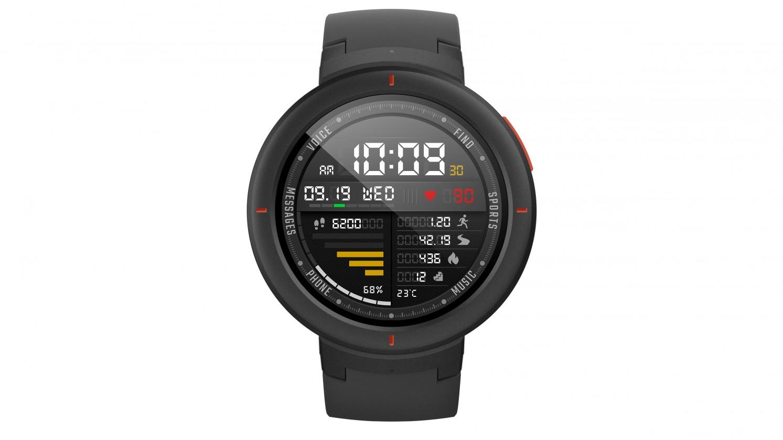 Chytré hodinky Chytré hodinky Xiaomi Amazfit VERGE, šedá