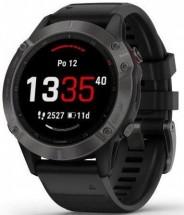 Chytré hodinky Garmin Fenix 6 Pro Sapphire, čierna/sivá