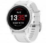 Chytré hodinky Garmin Fenix ??6S Glass, biela/strieborná