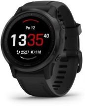 Chytré hodinky Garmin Fenix 6S Pro Glass, čierna