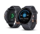 Chytré hodinky Garmin VívoActive 3 Music, modrá