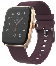 Chytré hodinky iGET Fit F20, zlatá