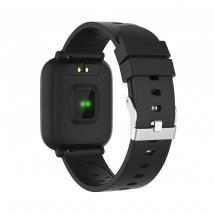 Chytré hodinky iGET Fit F3, 2 remienky, čierna