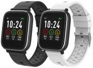 Chytré hodinky iGET Fit F3, 2 remienky, čierna POUŽITÉ, NEOPOTRE