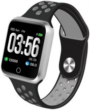 Chytré hodinky Immax SW10, čierna/strieborná POUŽITÉ, NEOPOTREBO