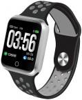 Chytré hodinky Immax SW10, čierna/strieborná