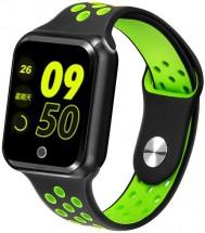 Chytré hodinky Immax SW10, čierna/zelená