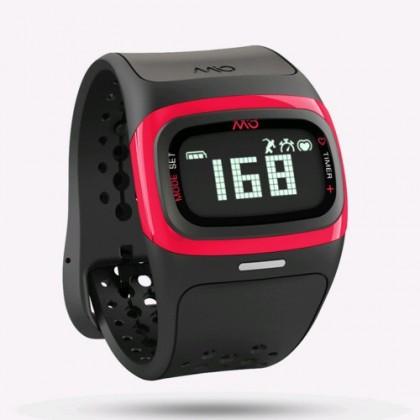 Chytré hodinky MIO Alpha 2 športové hodinky, senzor srdcového tepu - ružové