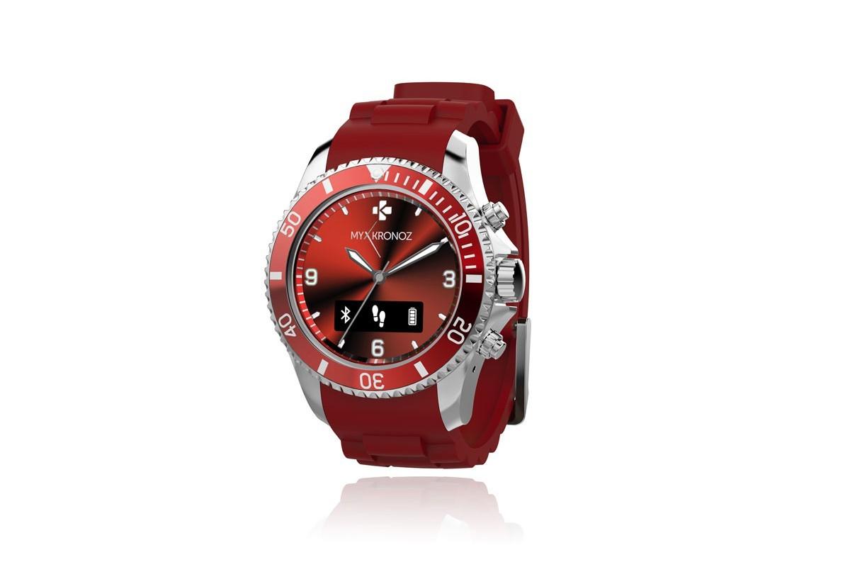 Chytré hodinky MYKRONOZ ZECLOCK - červené