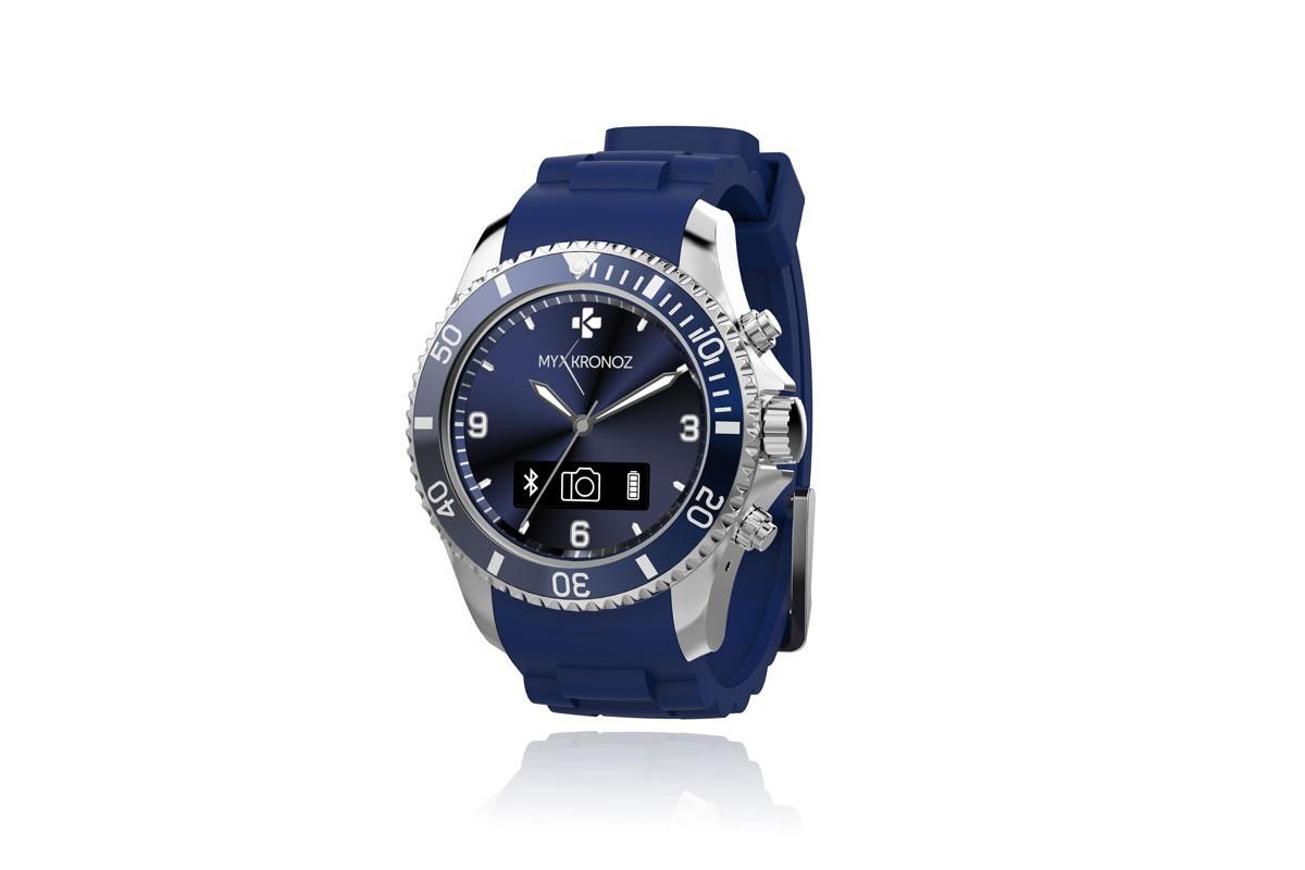 Chytré hodinky MYKRONOZ ZECLOCK chytré hodinky - modré