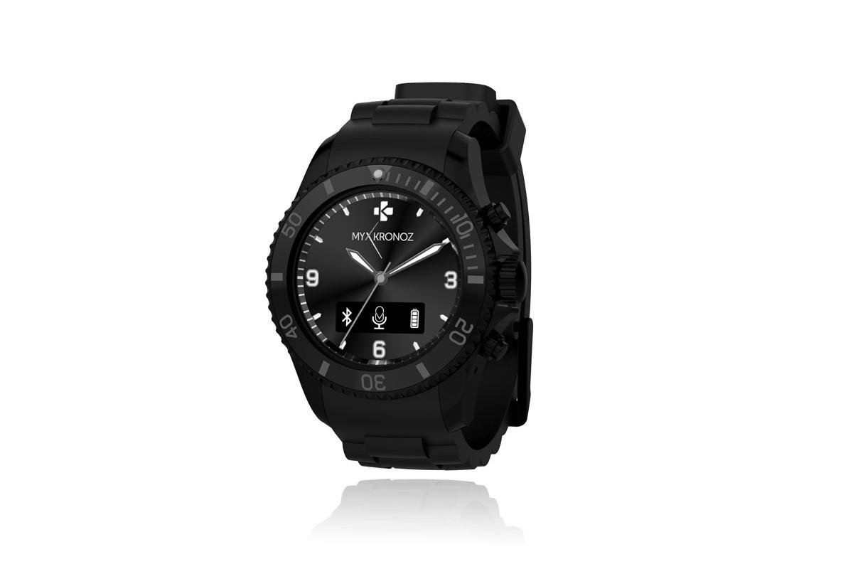 Chytré hodinky MYKRONOZ ZECLOCK - čierne