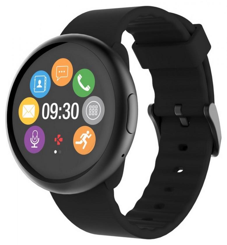 Chytré hodinky MyKronoz ZeRound2 Black/Black POUŽITÝ, NEOPOTREBOVANÝ TOVAR