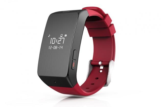 Chytré hodinky MYKRONOZ ZEWATCH2 - červené