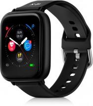 Chytré hodinky Niceboy X-Fit Watch, čierna POUŽITÉ, NEOPOTREBOVAN