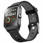 Chytré hodinky Umax U-Band P1 PRO s meraním tepu, čierna