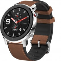 Chytré hodinky Xiaomi Amazfit GTR 47mm, strieborná
