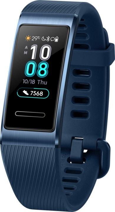 Chytré náramky Chytrý náramok Huawei BAND 3 PRO, modrá