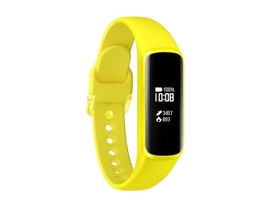 Chytré náramky Chytrý náramok SAMSUNG Galaxy Fit e, žltá