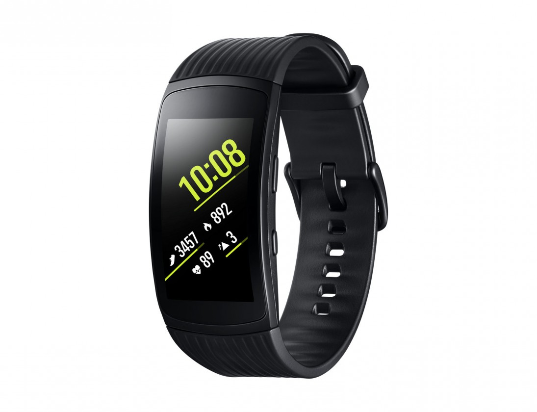 Chytré náramky SAMSUNG Gear Fit2 Pro, Black