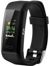 Chytrý náramok Niceboy X-Fit GPS, čierna