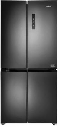 Čierne americké chladničky Americká chladnička Concept LA8383DS