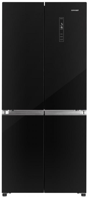 Čierne americké chladničky Americká chladnička Concept LA8783bc VADA VZHĽADU, ODRENINY