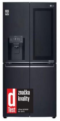 Čierne americké chladničky Americká chladnička LG GMX844MCKV
