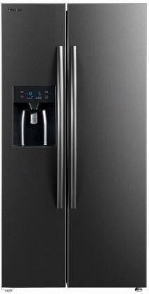 Čierne americké chladničky Americká chladnička Toshiba GR-RS508WE-PMJ(06) POŠKODENÝ OBAL