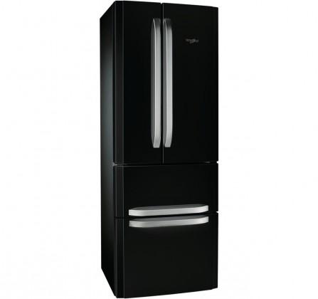Čierne americké chladničky Americká chladnička Whirlpool W4D7 AAA B C