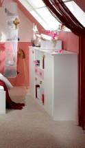 Cinderella - Skrinka (biela, růžová)