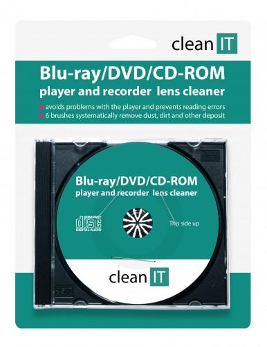 Čistiace CD CLEAN IT pre Blu-ray/DVD/CD-ROM prehrávače