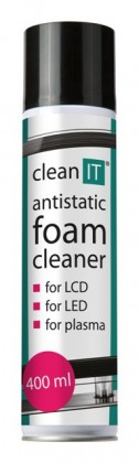Čistiace prostriedky Antistatická čistiaca pena na obrazovky CLEAN IT CL172, 400ml