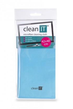 Čistiace prostriedky Čistiaca utierka z mikrovlákna CLEAN IT CL700, veľká, modrá