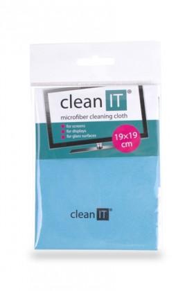 Čistiace prostriedky Čistiaca utierka z mikrovlákna CLEAN IT CL710, malá, modrá