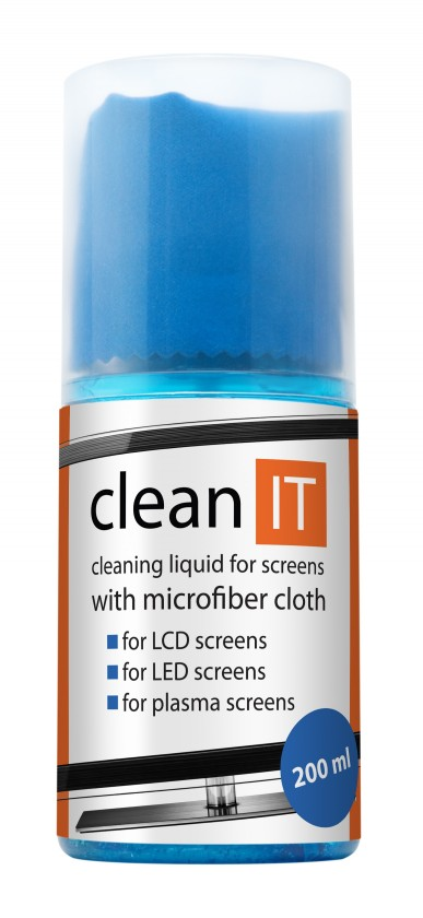 Čistiace prostriedky Clean IT CL-18 čistiaci roztok na obrazovky