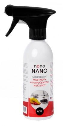 Čistiace prostriedky na nábytok Nano - odstraňovač mastnoty (300 ml)