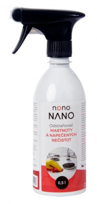 Čistiace prostriedky na nábytok Nano - odstraňovač mastnoty (500 ml)
