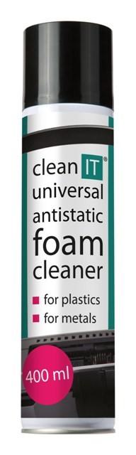 Čistiace prostriedky Univerzální anitstatická čistiaca pena CLEAN IT CL170, 400ml