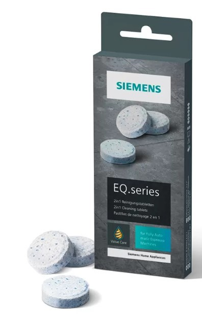 Čistiace tablety do kávovarov Čistiace tablety do kávovaru Siemens TZ80001A, 10 ks
