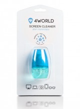 Čistiaci gél 4World + handra BLUE, 50ml