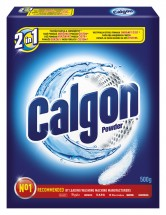 Čistiaci prostriedok zmäkčovač vody Calgon DRO00733, 2v1