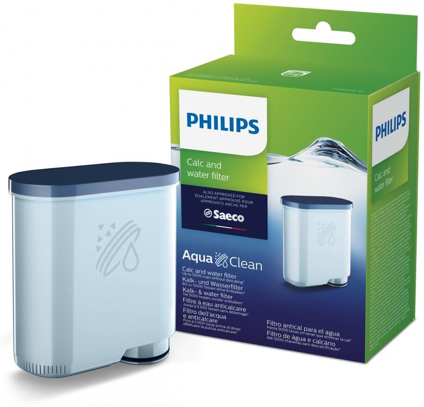 Čističe, doplnky Filter na vodu a vodný kameň pre espresovač Saeco