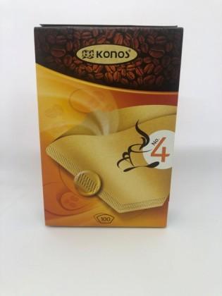 Čističe, doplnky Filtre do kávovaru Jolly K4, veľkosť 4