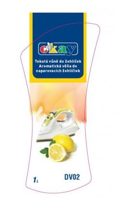 Čističe, doplnky Tekutá vôňa do žehličiek K&M DV02, citrón